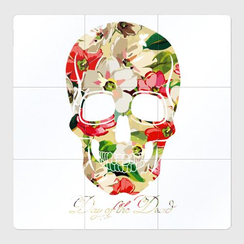 Магнитный плакат 3Х3 Мексиканский череп