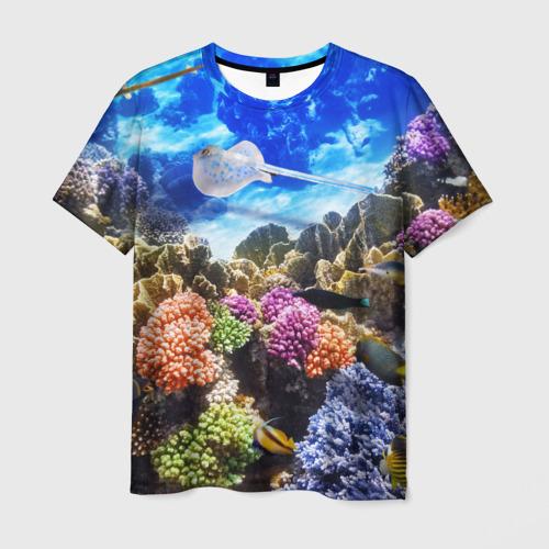 Мужская футболка 3D  Фото 01, Море 1