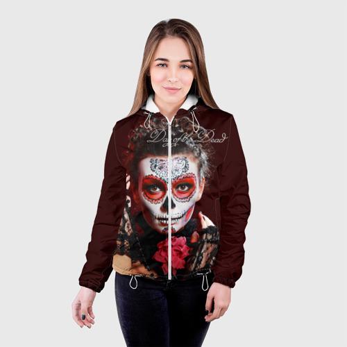 Женская куртка 3D  Фото 03, День мертвецов