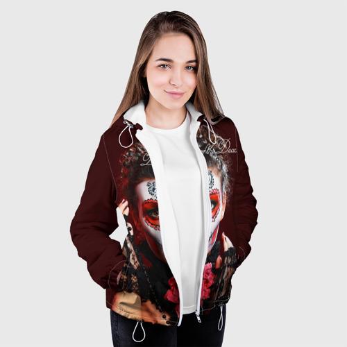 Женская куртка 3D  Фото 04, День мертвецов