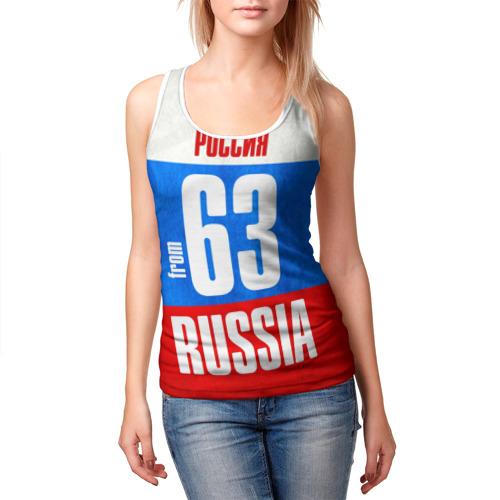 Женская майка 3D  Фото 03, Russia (from 63)