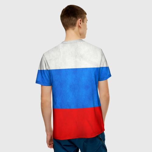 Мужская футболка 3D  Фото 02, Russia (from 70)