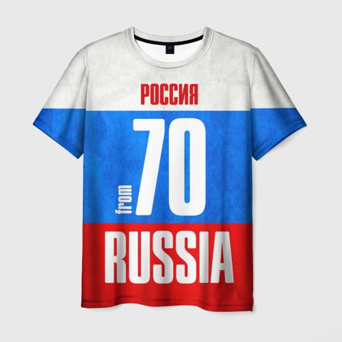 Мужская футболка 3D  Фото 03, Russia (from 70)