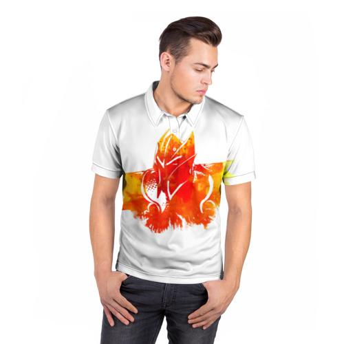 Мужская рубашка поло 3D  Фото 05, Dragon knight