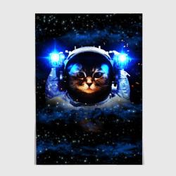 Кот космонавт