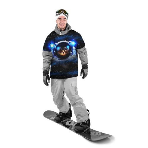 Накидка на куртку 3D Кот космонавт