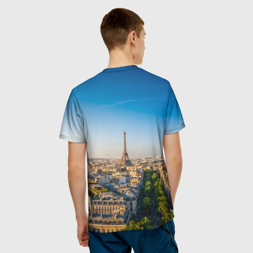 Мужская футболка 3D  Фото 02, Paris