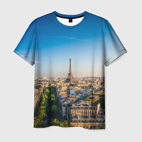 Мужская футболка 3D  Фото 03, Paris