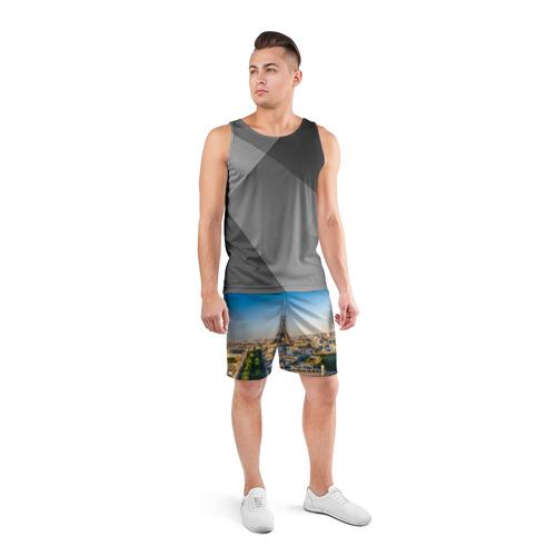Мужские шорты 3D спортивные  Фото 04, Paris