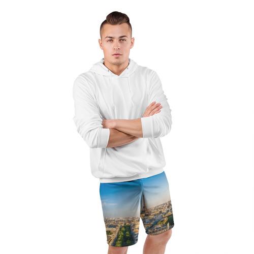 Мужские шорты 3D спортивные  Фото 05, Paris