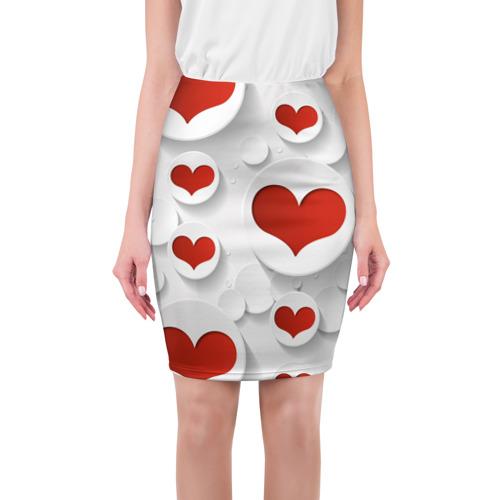 Юбка 3D Сердца 2