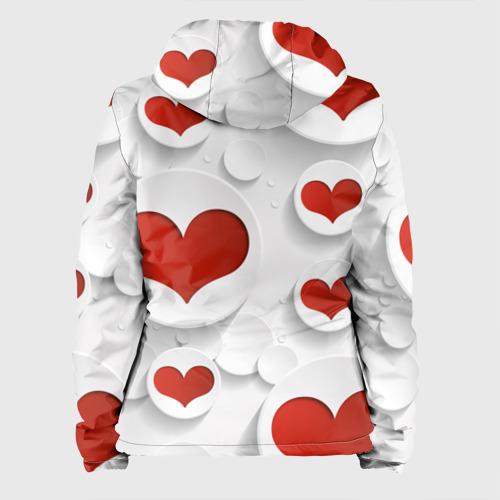 Женская куртка 3D  Фото 02, Сердца 2