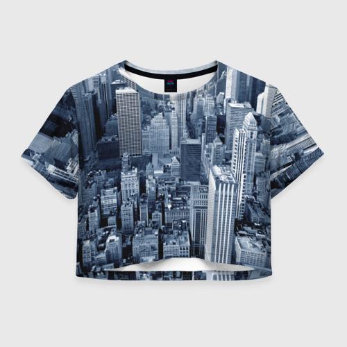 Женская футболка Cropp-top New York Фото 01