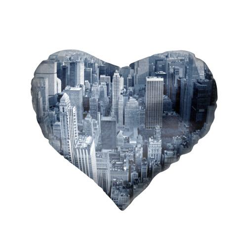 Подушка 3D сердце  Фото 02, New York