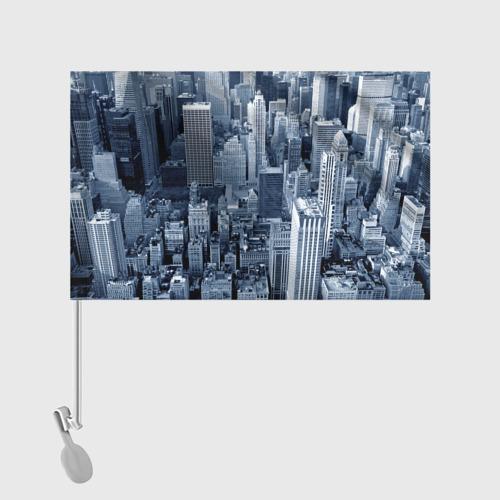 Флаг для автомобиля New York Фото 01