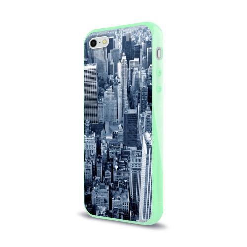 Чехол для iPhone 5/5S глянцевый New York Фото 01