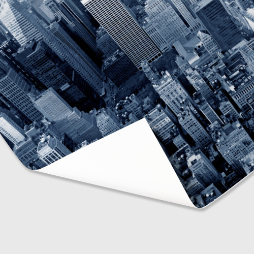 Бумага для упаковки 3D New York Фото 01