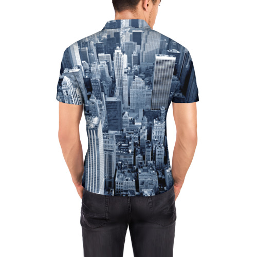 Мужская рубашка поло 3D New York Фото 01