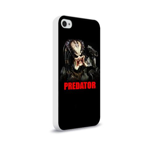 Чехол для Apple iPhone 4/4S soft-touch  Фото 02, Predator