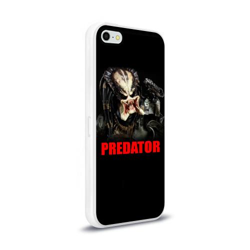 Чехол для Apple iPhone 5/5S силиконовый глянцевый  Фото 02, Predator