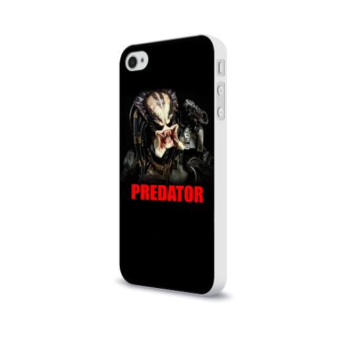 Чехол для Apple iPhone 4/4S soft-touch  Фото 03, Predator