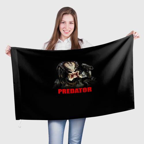 Флаг 3D  Фото 01, Predator