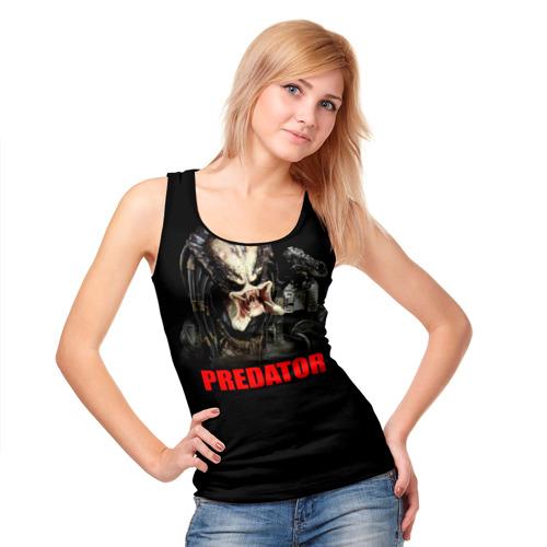 Женская майка 3D  Фото 05, Predator