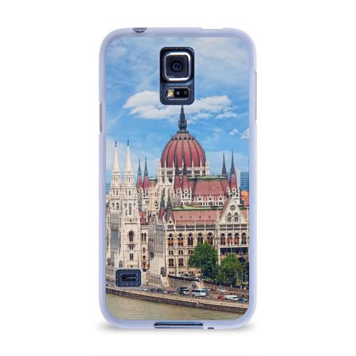 Чехол для Samsung Galaxy S5 силиконовый  Фото 01, Будапешт