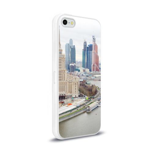Чехол для Apple iPhone 5/5S силиконовый глянцевый  Фото 02, Москва-Сити