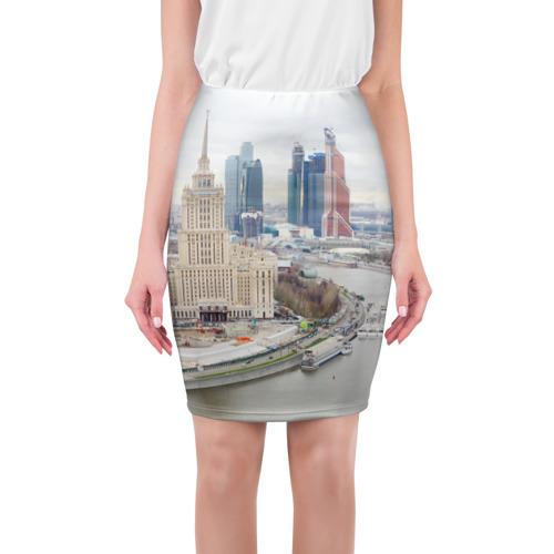 Юбка 3D Москва-Сити