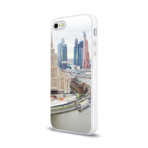 Чехол для Apple iPhone 5/5S силиконовый глянцевый  Фото 03, Москва-Сити