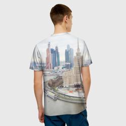 5960c44dda2 Мужская футболка 3D Москва-Сити одежда Одежда с принтом рисунком Москва-Сити  надписью купить