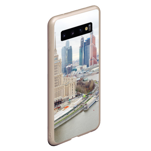 Чехол для Samsung Galaxy S10 Москва-Сити Фото 01