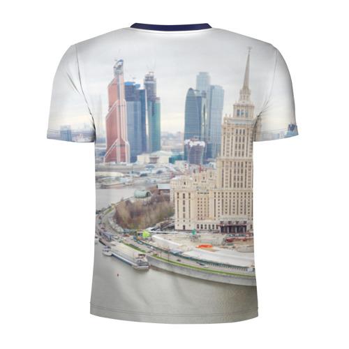 Мужская футболка 3D спортивная  Фото 02, Москва-Сити