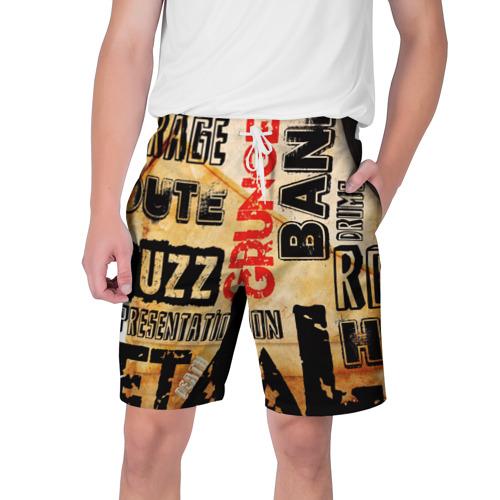 Мужские шорты 3D Music