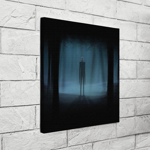 Холст квадратный  Фото 03, Слендермен Slender man