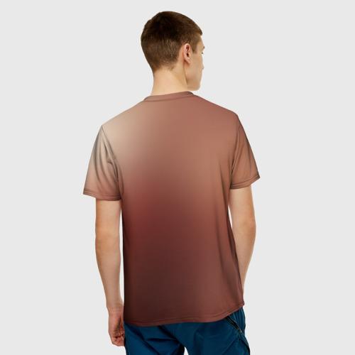 Мужская футболка 3D  Фото 02, Line
