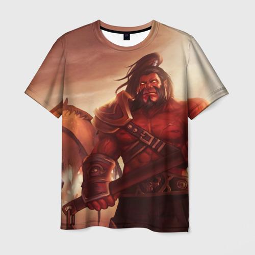 Мужская футболка 3D  Фото 03, Line