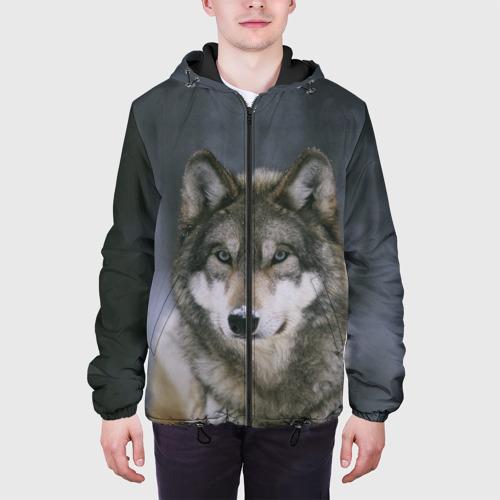 Мужская куртка 3D  Фото 04, Волк