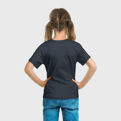 Детская футболка 3D Картина волк Фото 01