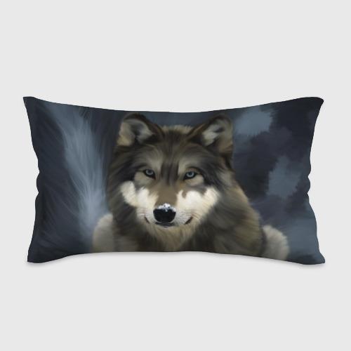 Подушка 3D антистресс Картина волк Фото 01