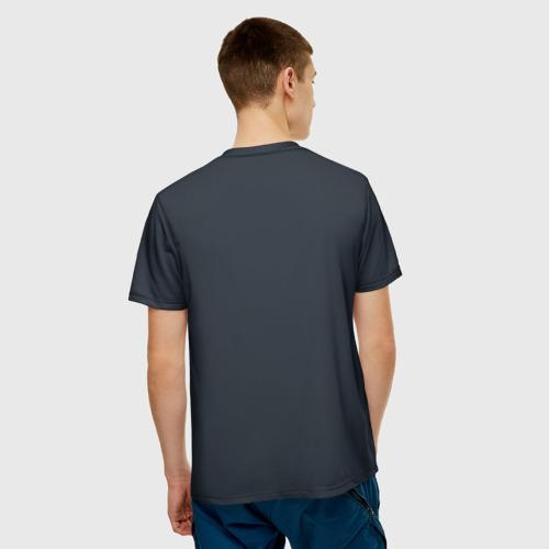 Мужская футболка 3D  Фото 02, Картина волк