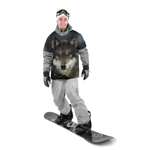Накидка на куртку 3D Картина волк Фото 01