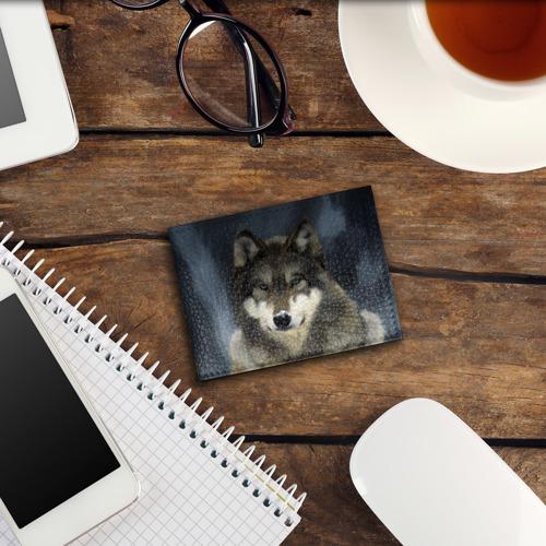 Обложка для студенческого билета Картина волк Фото 01