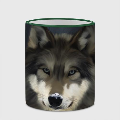 Кружка с полной запечаткой Картина волк Фото 01