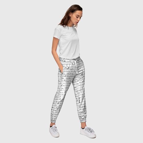 Женские брюки 3D  Фото 03, Ноты