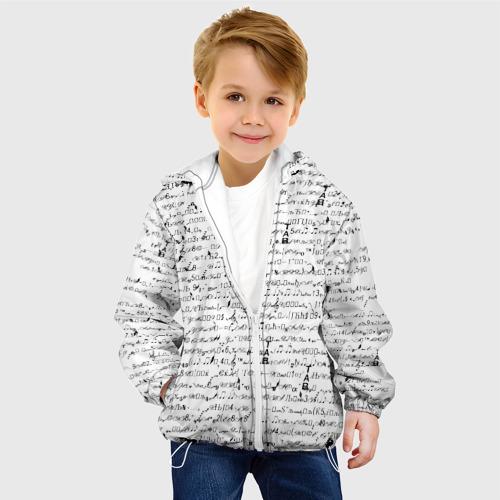 Детская куртка 3D  Фото 03, Ноты