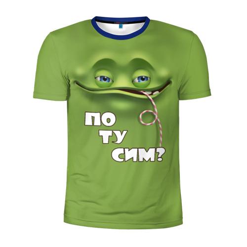 Мужская футболка 3D спортивная Потусим?