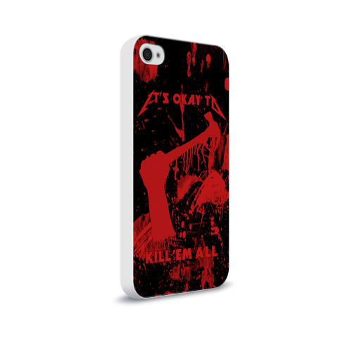 Чехол для Apple iPhone 4/4S soft-touch  Фото 02, Kill 'Em All