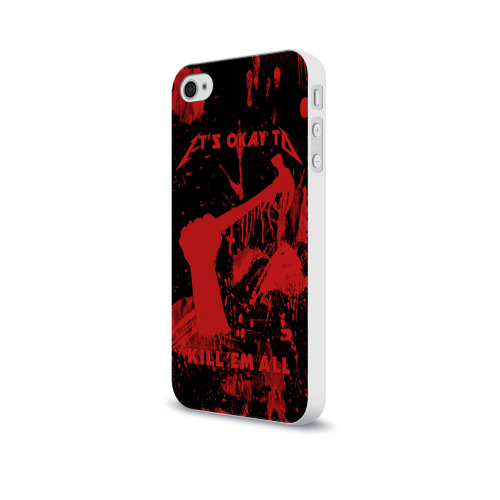 Чехол для Apple iPhone 4/4S soft-touch  Фото 03, Kill 'Em All